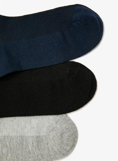 Koton 3'lü Çorap Lacivert